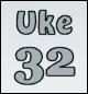 Ukens for Uke 32. Grafikk: VampBea.