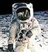 Månelandingen, en klassiker i vår tid. Foto: NASA.