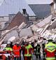 Noe gikk fryktelig galt i Köln. Foto: AFP.