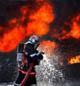 Det brenner i Chile. Foto: Colourbox.